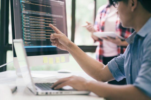 élèves coding bootcamp