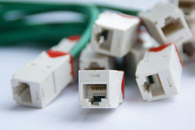 des câbles RJ45 ADSL