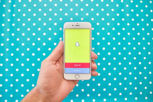 caméra Snapchat