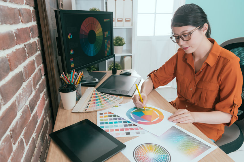 graphiste professionnel