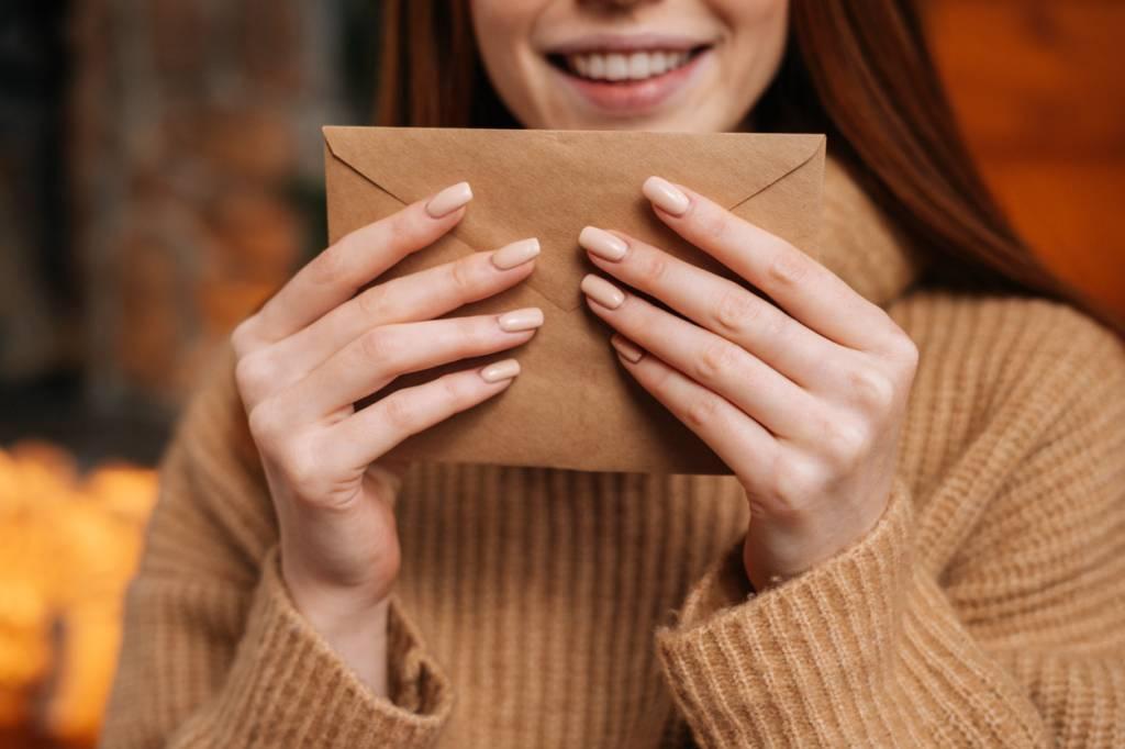 recevoir une carte postale personnalisée