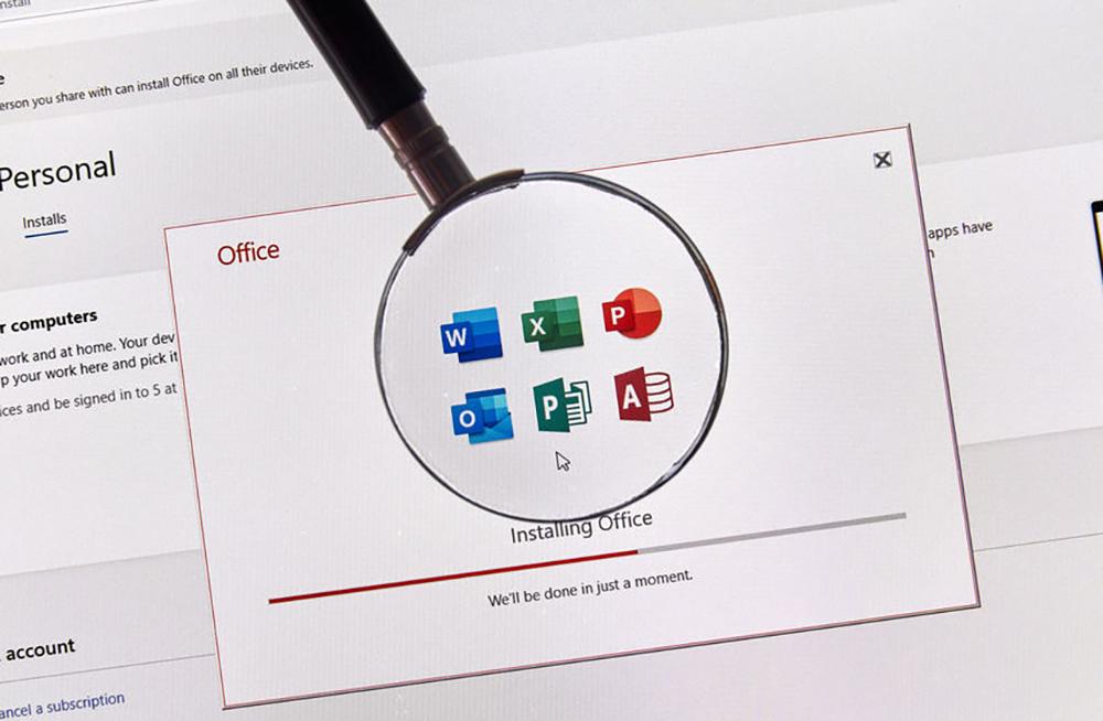 logiciel Microsoft Office
