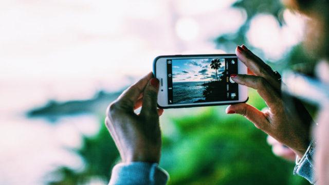 photos avec iphone