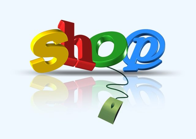 shopping sur le web