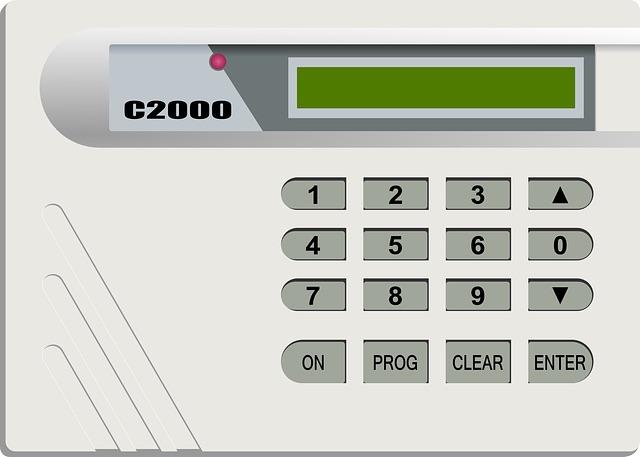 système alarme centrale électronique