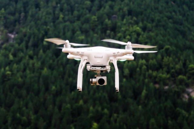 vidéo par drone