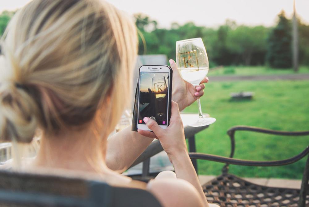 vin et Snapchat