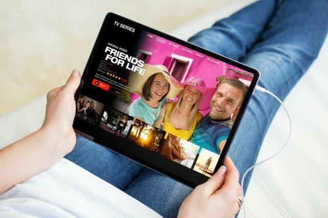 visioner Netflix US en France